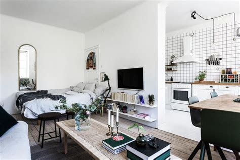 15 stylish ways to decorate a studio apartment with