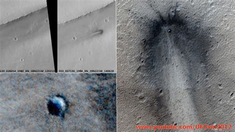 NASA probe MRO photographed a huge and mysterious impact ...