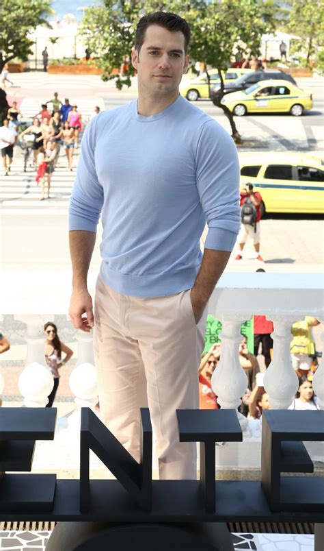 Henry Cavill News: The Man From U.N.C.L.E. In Brazil ...
