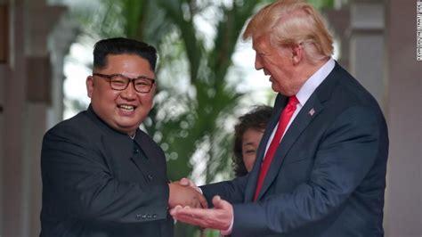 trump kim summit  leaders sign document  singapore