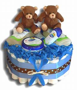 Geschenke Für Junge Eltern : zwillinge windeltorte jungen klein geschenk zur geburt ~ Sanjose-hotels-ca.com Haus und Dekorationen