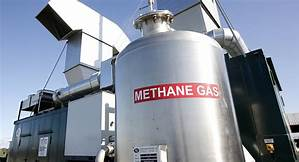 Methan gas