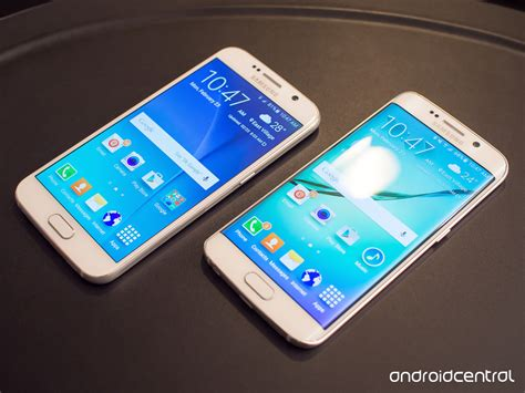 samsung galaxy s6 phone samsung galaxy s6 and s6 edge on preview android