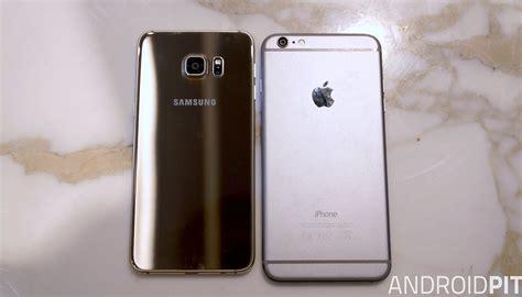 samsung galaxy s6 edge plus iphone 6 plus il primo vero rivale di apple androidpit