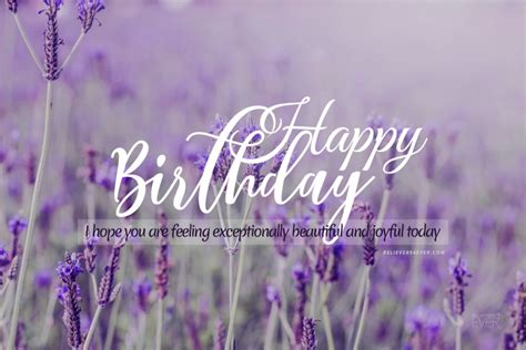 happy birthday exceptionally beautiful believersevercom