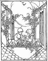Coloring Pioneer sketch template