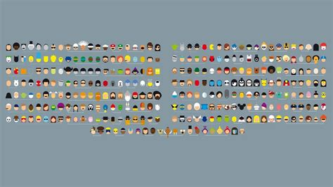 These hd phone wallpapers are free to download for your android phone. Free download Minimalist Pop Culture Characters 1920x1080 wallpaper 1920x1080 for your ...