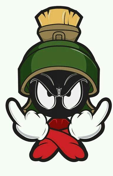 Please contact us if you want to publish a black. Marvin the Martian … | Marvin the martian, Art, Classic cartoon characters