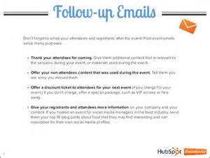 Event Follow-Up Email Template