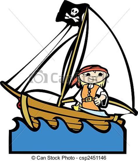 Simple Boat Clipart by Clip Vecteur De Pirate Bateau Simple