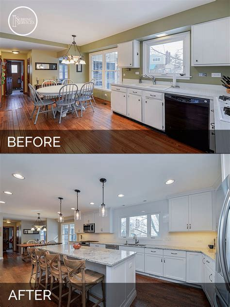 Kitchen Before And After by S Kitchen Before After Pictures In 2019