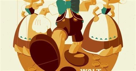 Pinocchio Screen Print By Tom Whalen