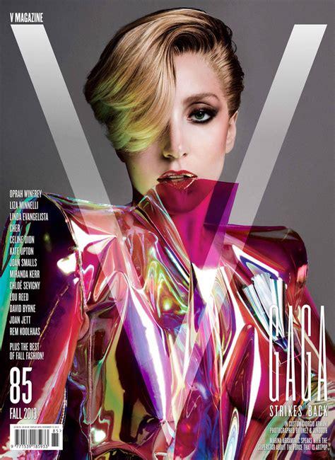 Cru Magazine 2013 08 By Gaga For V Magazine September 2013