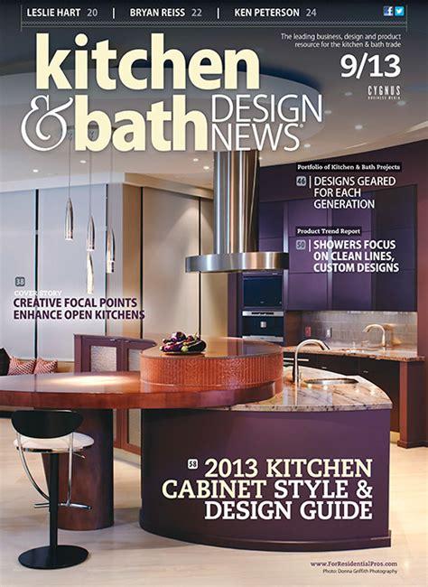 kitchen design magazines free kitchen bath design news september 2013 187 4507