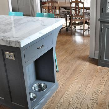 Pet Food Cabinet With Bowls by Kitchen Island Pet Food Bowls Pet Friendly Interiors