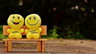 Happy Cheerful Smiles Smile Background Ultrawide Monitor