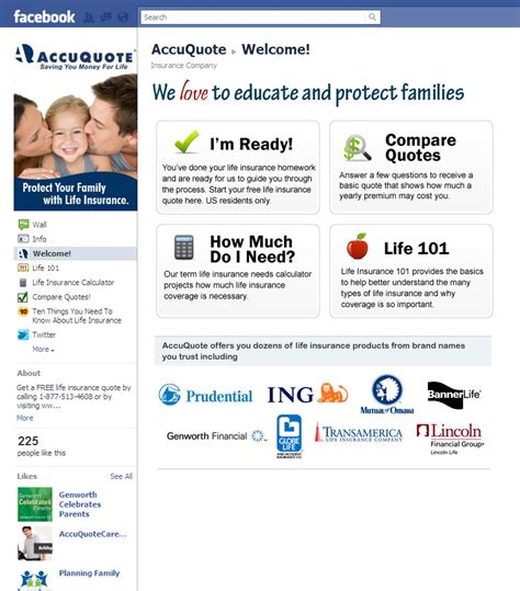 AccuQuote.com Unveils Facebook Fan Page with Interactive ...