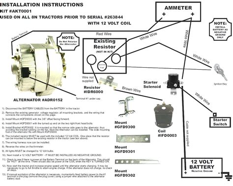 ford tractor ignition switch wiring diagram best great