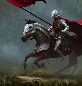 War Huh by jjpeabody knight soldier platemail armor horse ...