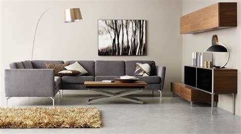 canapé petit salon canapé d 39 angle en tissu cuir design contemporain côté