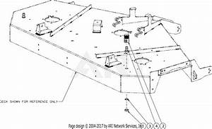 Troy Bilt 17andald066 Mustang Xp 60  2016  Parts Diagram
