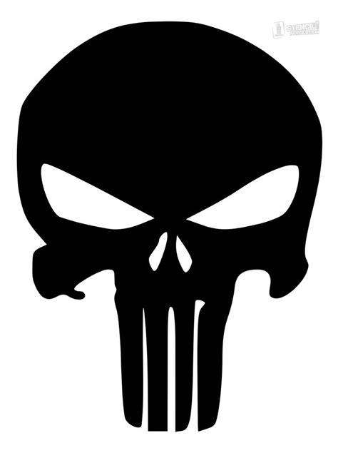 Templates For Stencils by Punisher Skull Stencils On Stencil Revolution