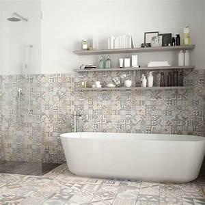 Carreaux De Ciment Salle De Bain : carreaux de ciment salle de bain simple best salle de ~ Melissatoandfro.com Idées de Décoration