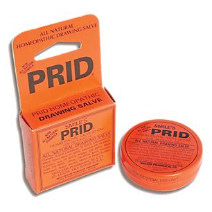 prid homeopathic drawing salve  ounces ointment