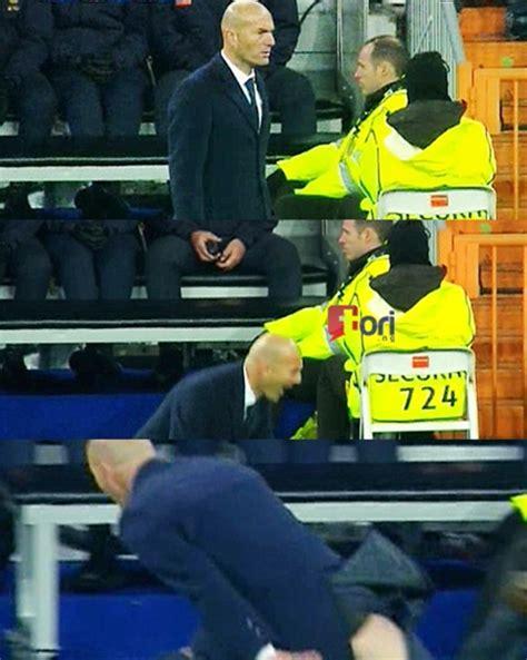 Real Madrid Boss Zidane Suffers Wardrobe Malfunction As