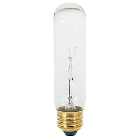 60 watt clear tubular t10 medium base bulb shades of light