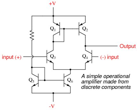 Amp Opamp Using Transistor Query Electrical