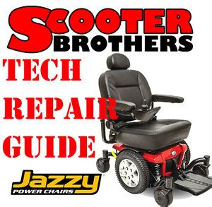 Jazzy Power Chair Technical Service Repair Guide