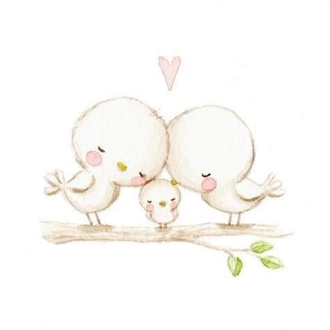 Cute Baby Drawings Bird