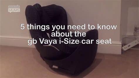 gb vaya car seat madeformums