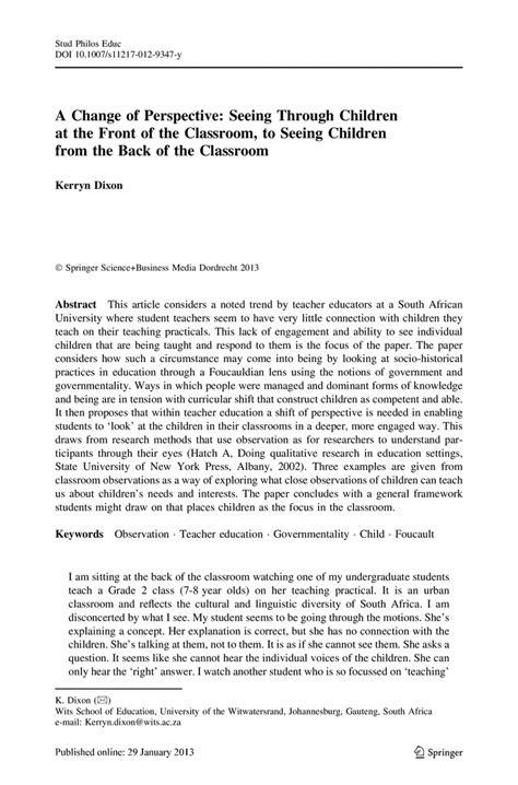 preschool observation essay 54 observation essay example classroom observation essay 207