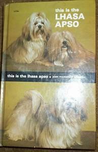 Classic Lhasa Apso Dog Manual  U0026 Care Guide Hardcover Book