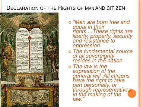 french declaration rights  man  citizen french revolution