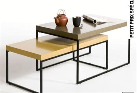 table basse la redoute 8 meubles pour am 233 nager un studio 224 petit prix d 233 co cool