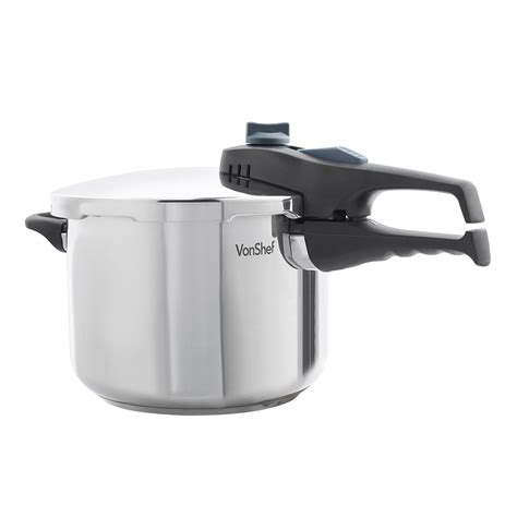 cooker pressure vonshef litre cookers stainless steel