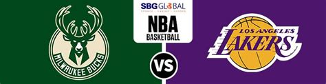 Bucks at Lakers in Potential Betting on NBA Games Finals ...