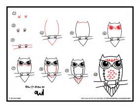 How to Draw a Owl Step by Step Easy for Kids