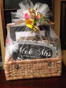Bridal Shower Gift Basket Ideas
