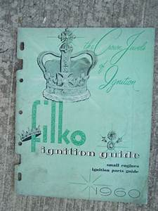 1960 Filko Small Engines Ignition Parts Guide Manual More