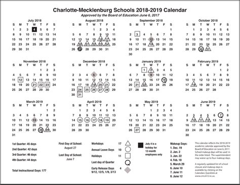 cms school calendar holidays images pictures