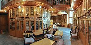 Library in House of Scientists, Lviv Ukraine