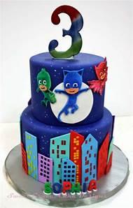 PJ Birthday Cake Masks