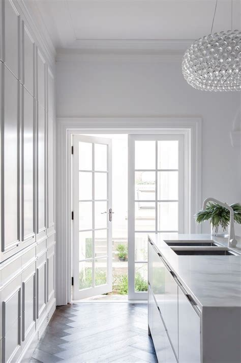 Best 25  All white kitchen ideas on Pinterest   Classic