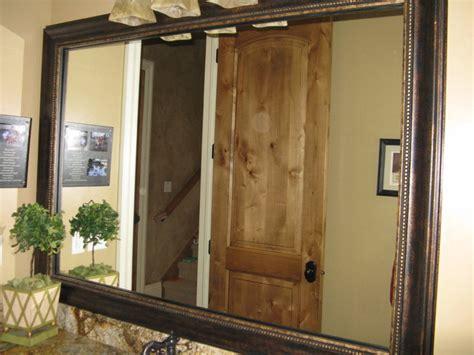 Bathroom Mirror Frame Kits by Mirror Frame Kit Traditional Bathroom Mirrors Salt
