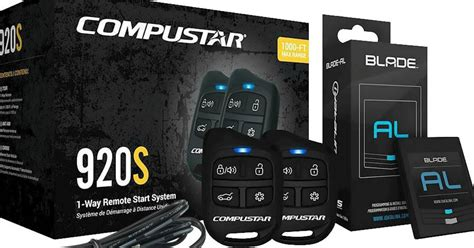 compustar 1 way remote start system and free squad installation only 249 99 shipped hip2save