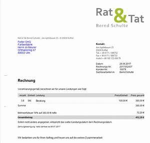 Mein Md Rechnung : rechnung schreiben und buchhaltung erledigen mit wiso mein b ro ~ Themetempest.com Abrechnung